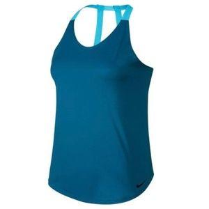 Nike Breathe Teal Training Tank sz Small & Medium